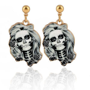 Skull Girl Earrings