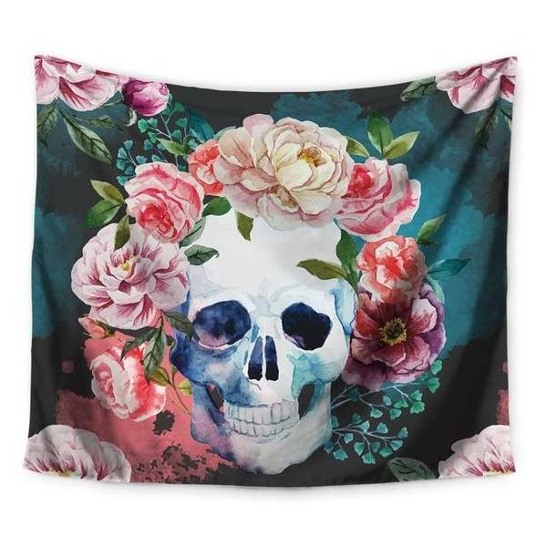 Floral Ring Tapestry