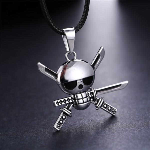 Metal Skull Necklace
