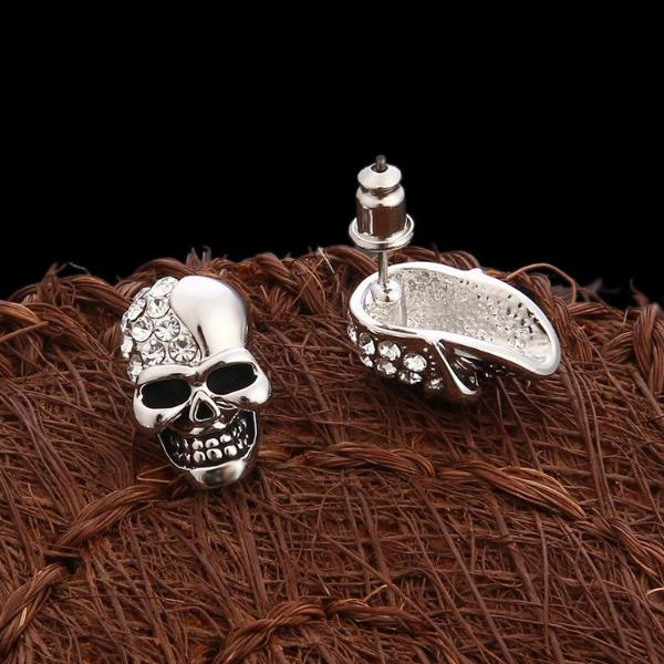 Jaswerin Skull Earrings