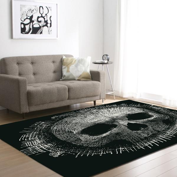 Large Skull Carpets