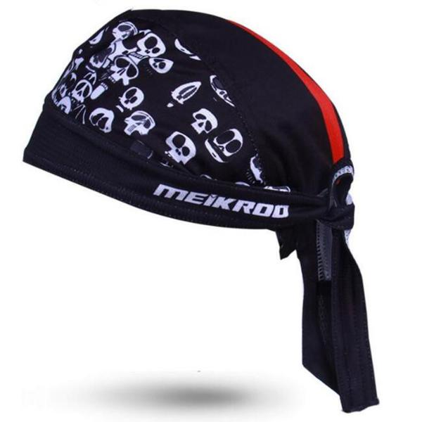 Pirate Biker Cap