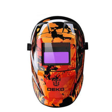 Black Fire Solar Auto Darkening Electric Welding Helmet