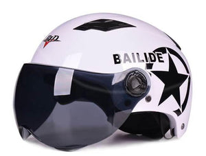 Half Open Face Protection Gear Head Helmet