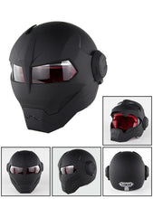 Matte Black Iron Man Helmet
