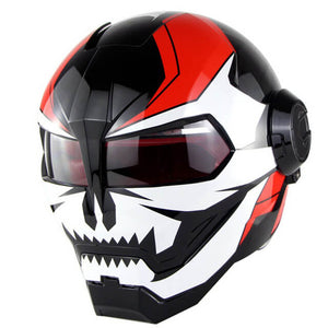 Skull Head Iron Man Helmet