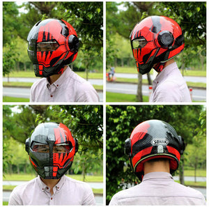 Scarface Moto Iron Man Helmet