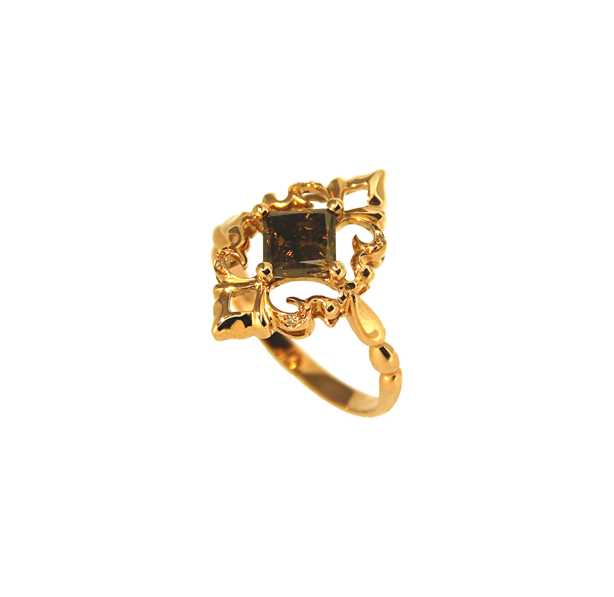 Brown Arbo Ring - Ravior Jewels