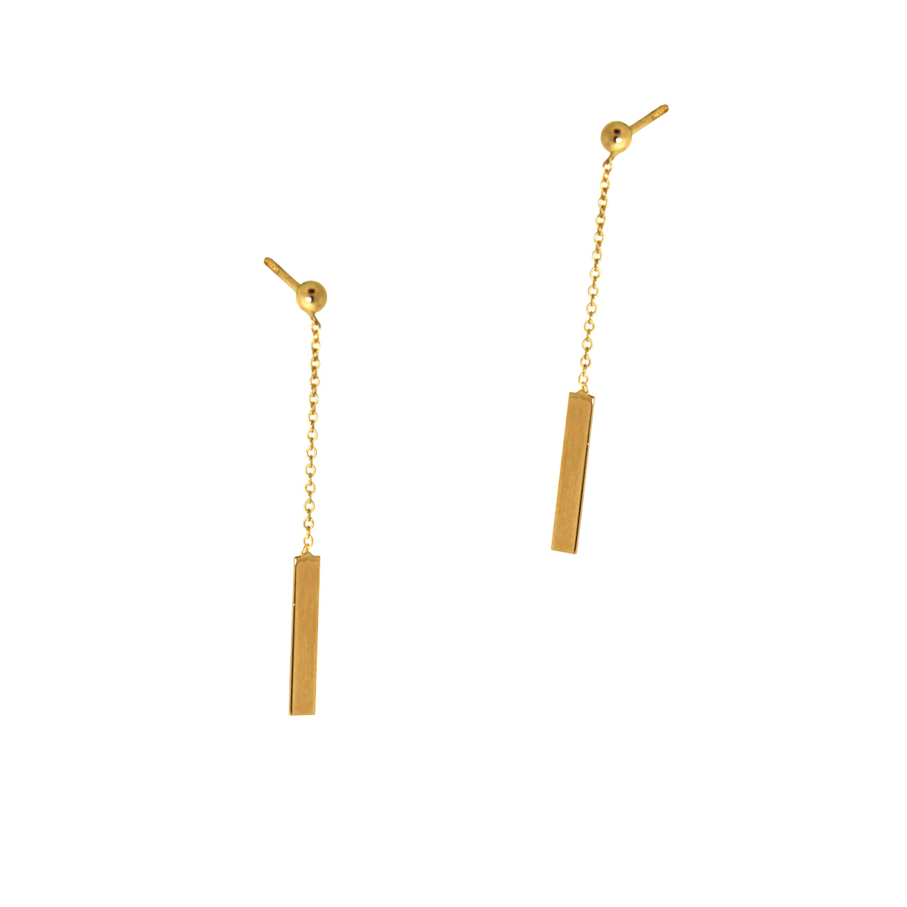 Hanging Baton Earrings