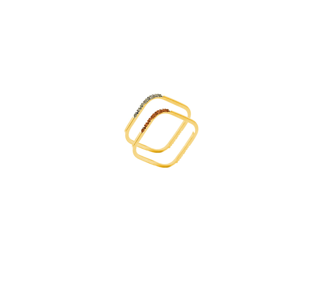 Gold Squares - Ravior Jewels
