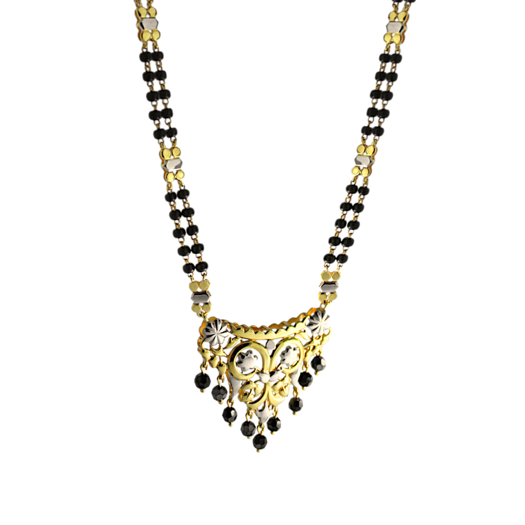 Mangalsutra in Yellow Gold