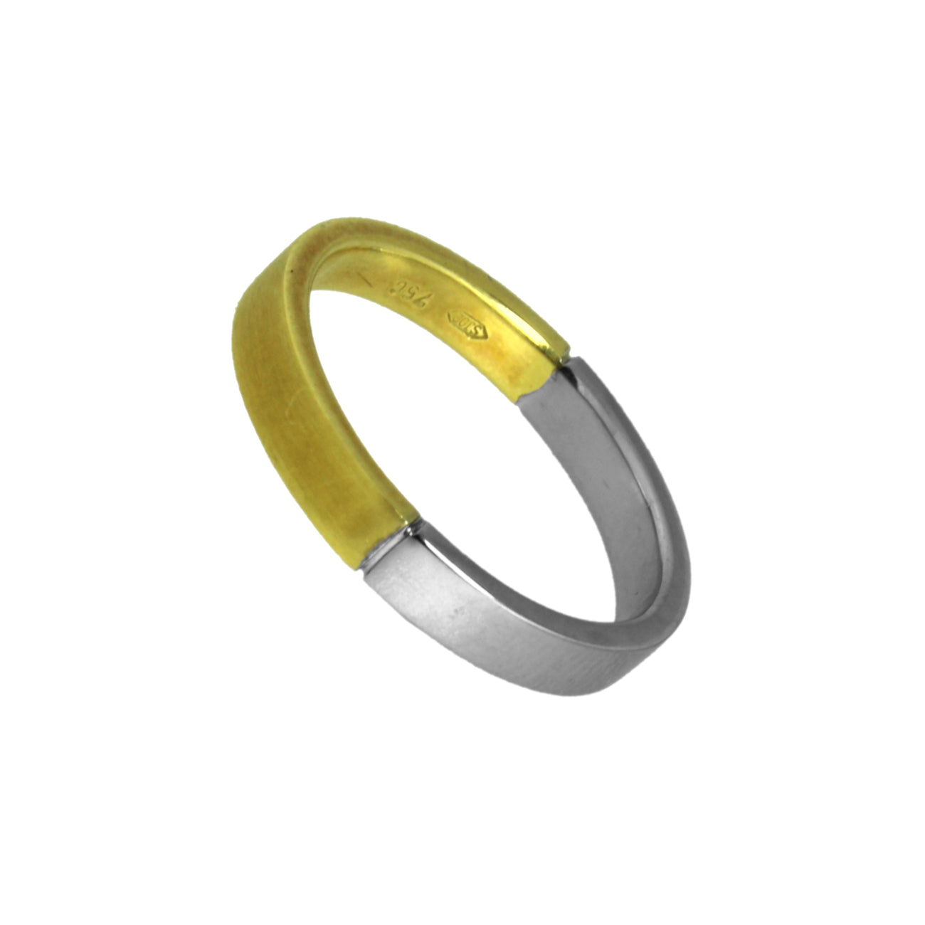 Bicolored Wedding Ring