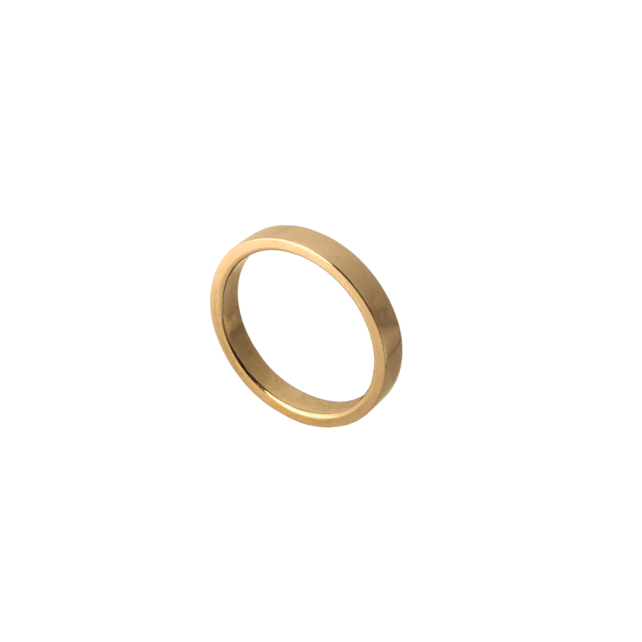 Pink Gold Wedding Band