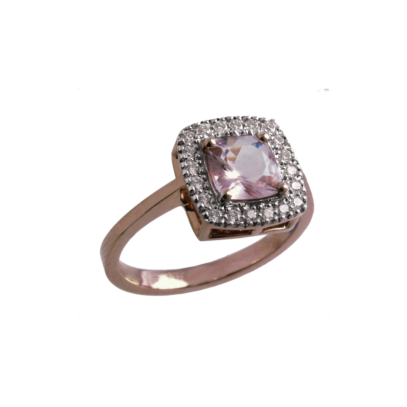 The Cushion Morganite