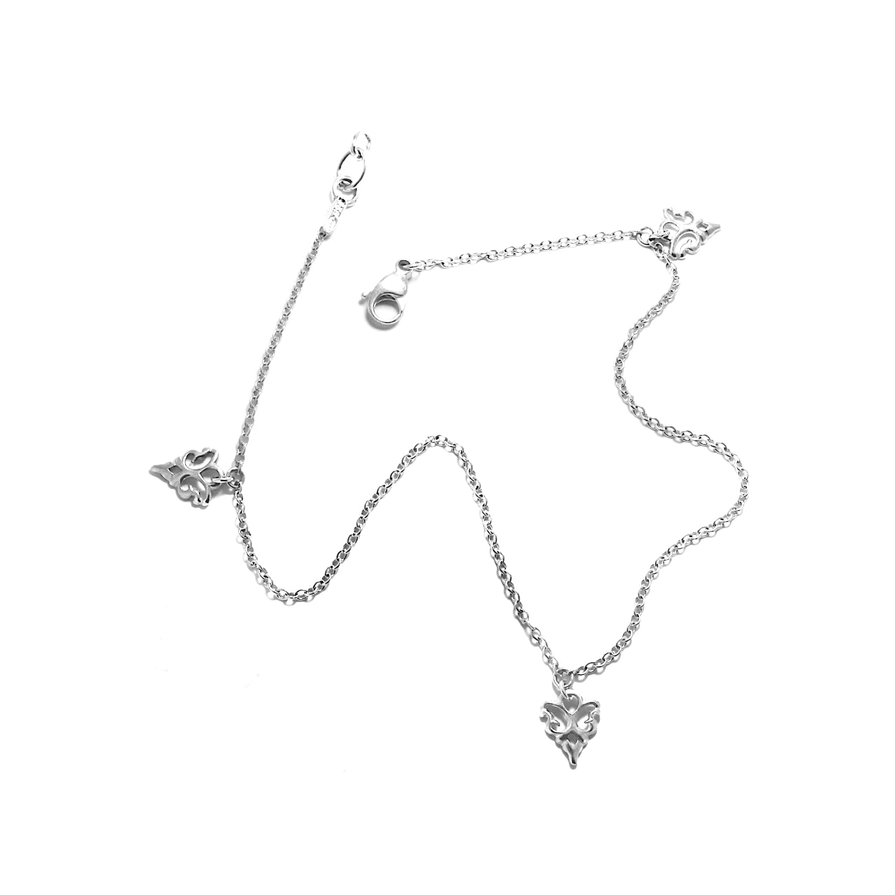 Sterling Silver Anklet Chain