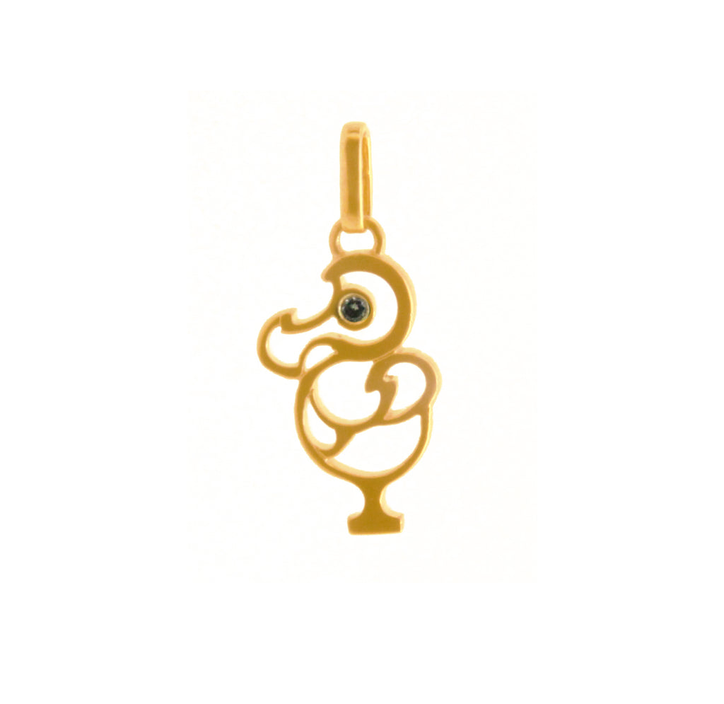 Kid's Dodo Pendant (Includes Options) - Ravior Jewels