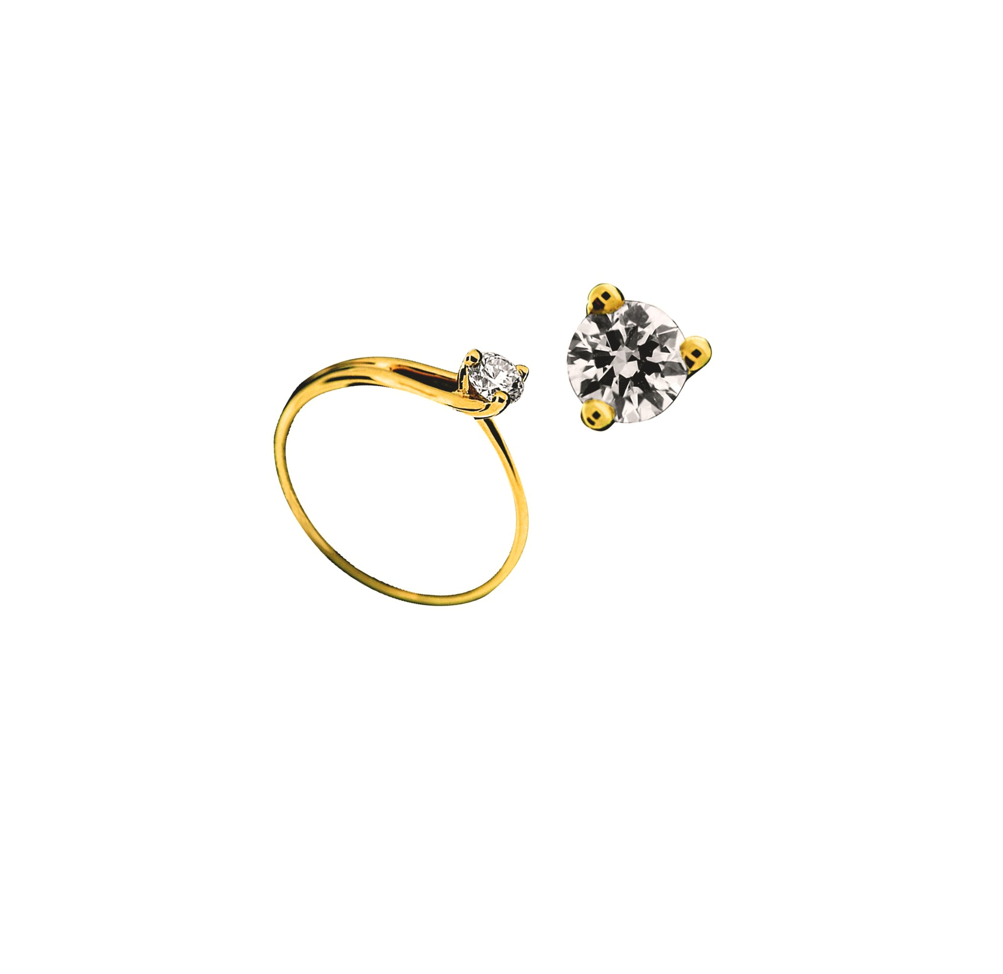 Golden Engagement - Ravior Jewels