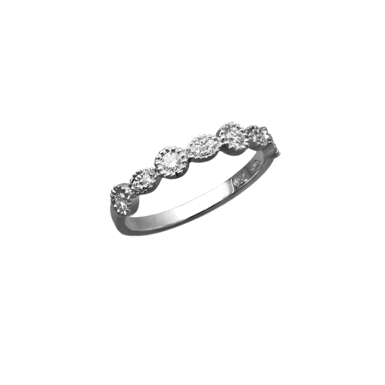 Semi Eternity Ring