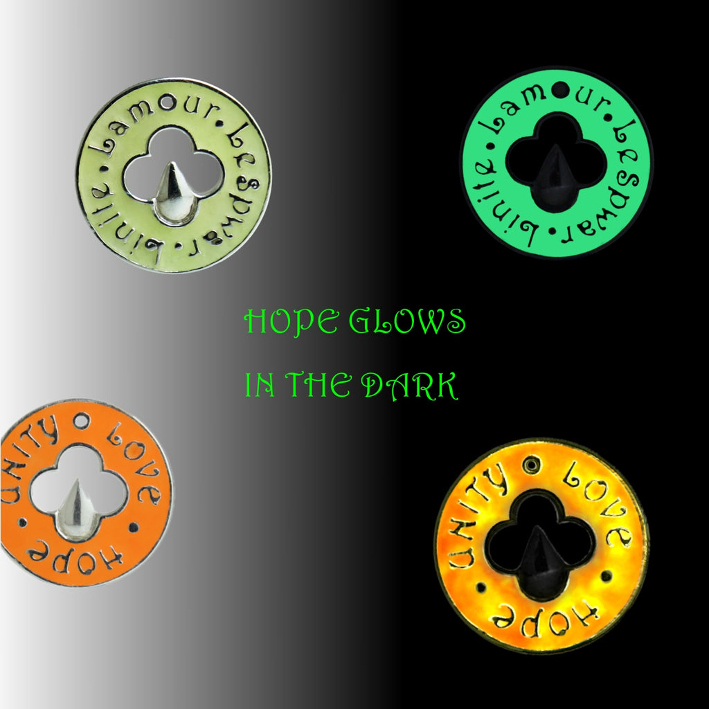 HOPE, Glows in the dark!