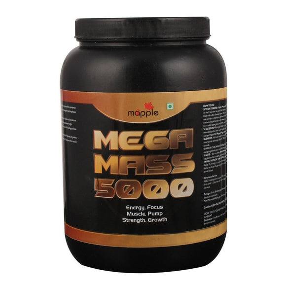 Grf Mega Mass 5000 Whey Protein Supplement - 600gm