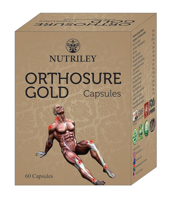 CRD Ayurveda Orthosure Gold  - Joint Pain / Arthritis Capsules (60 Capsules)