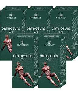 CRD Ayurveda Orthosure Oil - Joint Pain / Arthritis Oil (30ML) - Pack of 5