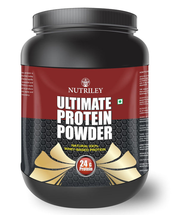 Nutriley Ultimate Protein - Body/Muscle Gainer Whey Protein Supplement (1 KG)