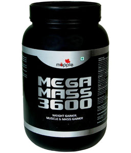 Health Care - Grf Mega Mass 3600 Whey Protein Supplement - 600gm