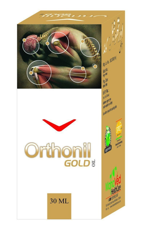 Joint Care - Orthonil Gold  - Joint Pain, Arthritis And Muscle Pain Oil
