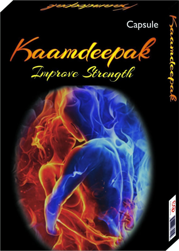 Men's Health - Kaamdeepak - Premature Ejaculation, Sex Power Enhancer Capsules