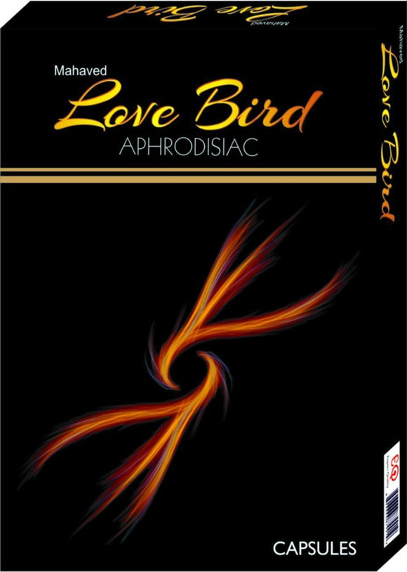 Men's Health - Love Bird - Premature Ejaculation, Sex Power Enhancer Capsules