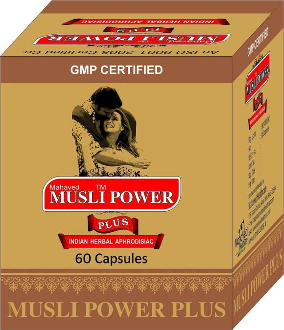 Men's Health - Musli Power - Sexual Strength, Stamina, Erectile Dysfunction, Premature Ejaculation Capsules
