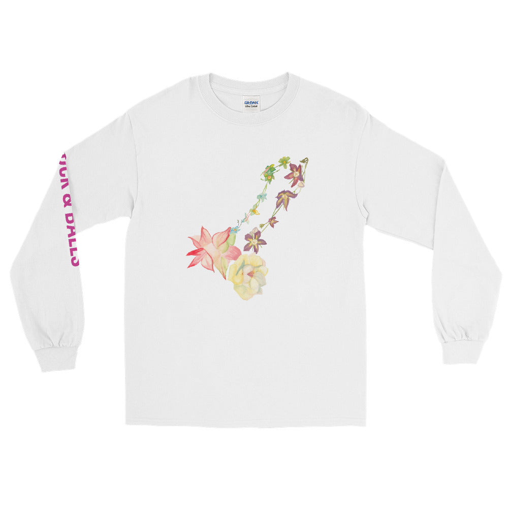The Cock Flower - long sleeve