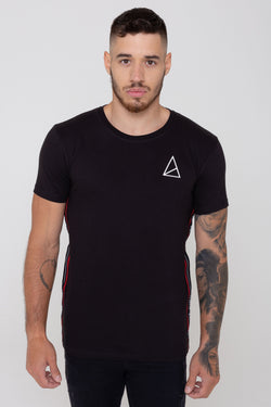 Golden Equation Barrett Basic Side Logo Men's T-Shirt - Black from Golden Equation