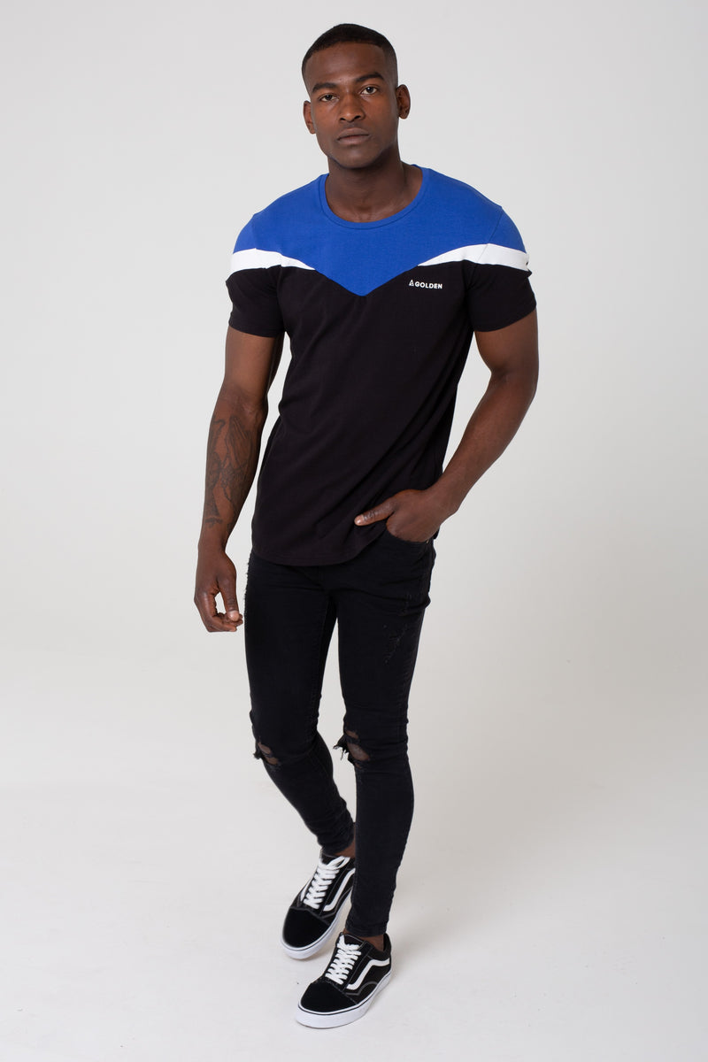 Strike Men's T-Shirt - Black from Golden Equation