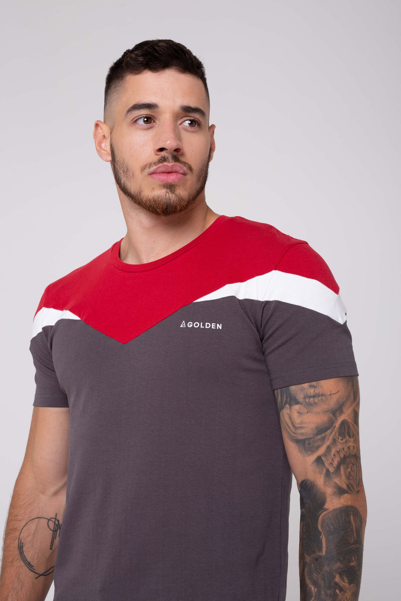 Strike Men's T-Shirt - Charcoal from Golden Equation