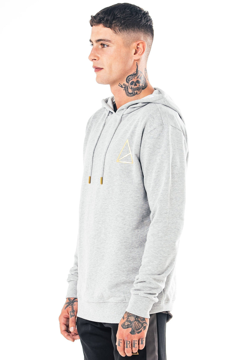Golden Equation Arlen Hooded Men's Sweatshirt - Grey from Golden Equation