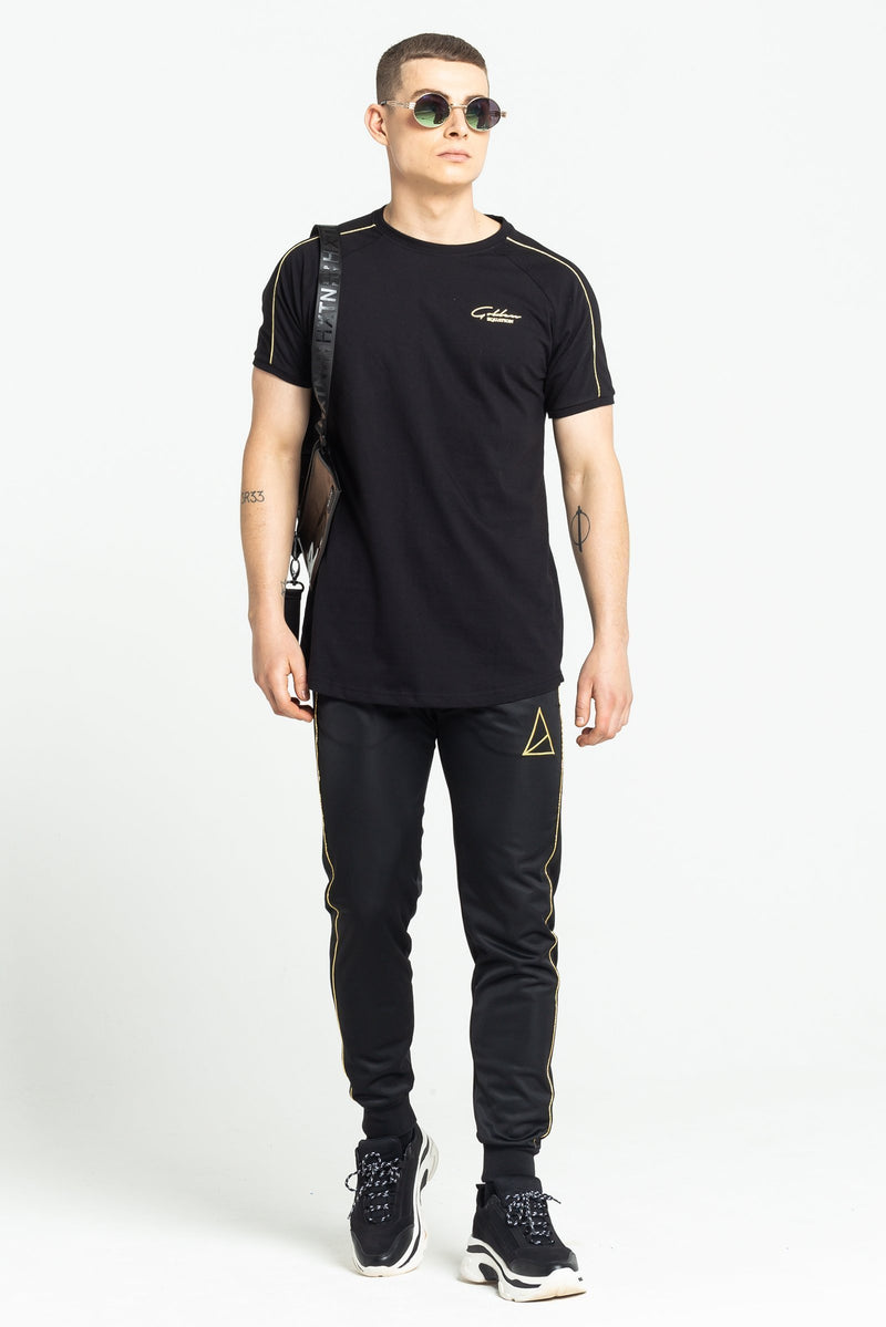 Bank Signature Men's T-Shirt - Black from Golden Equation