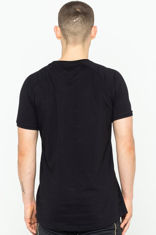 Mens Bank Signature T-Shirt - Black from Golden Equation