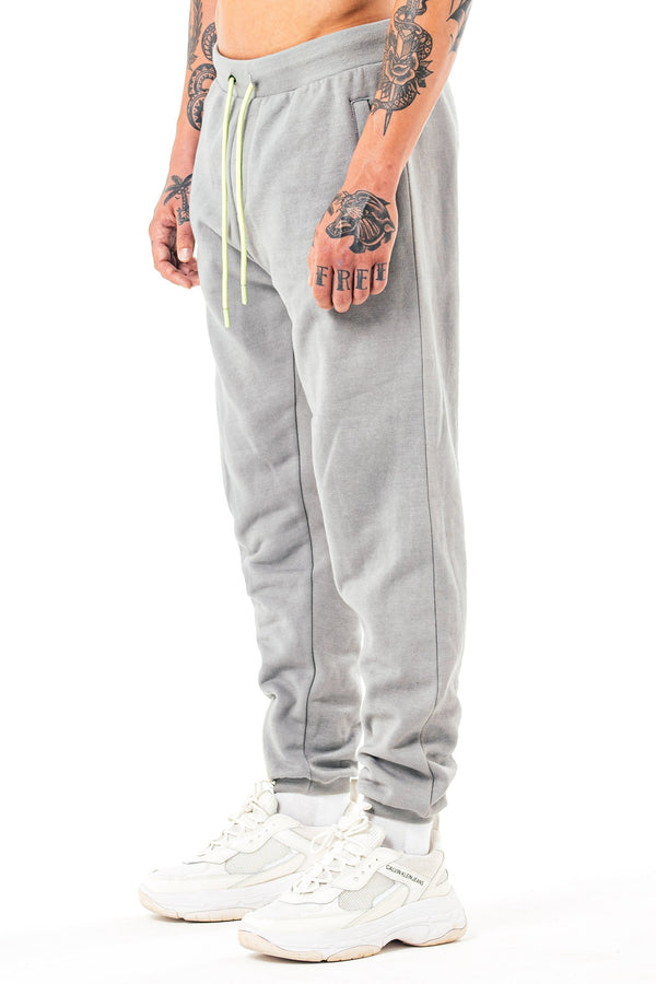 Mens Mens Botad Slim Fit Jogger - Grey (Joggers) - Golden Equation