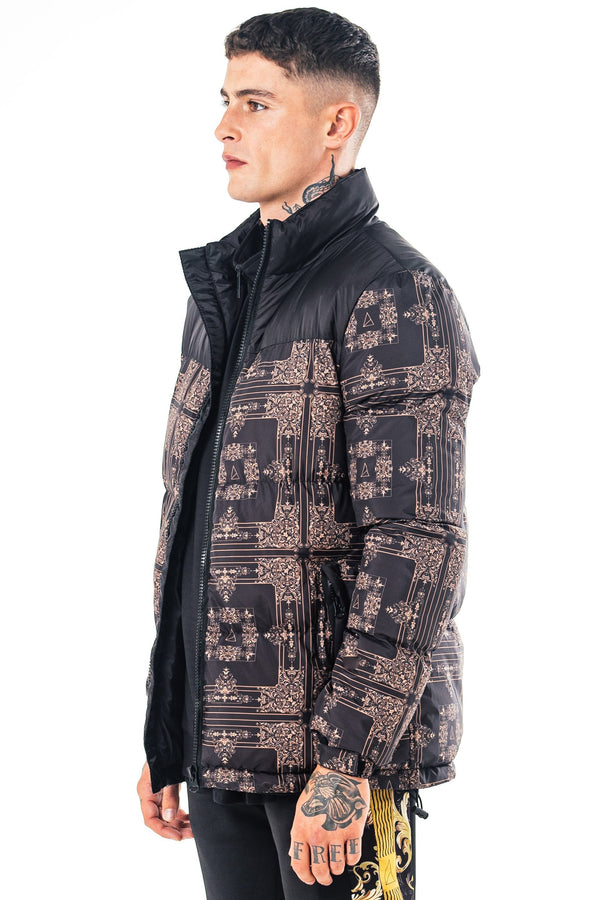 Mens Foster Puffer Jacket - Black from Golden Equation