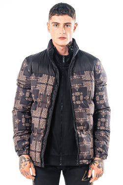 Golden Equation Foster Men's Puffer Jacket - Black from Golden Equation