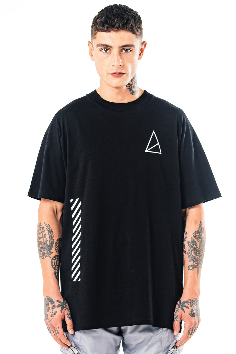 Golden Equation Franklyn Oversized Men's T-Shirt - Black from Golden Equation