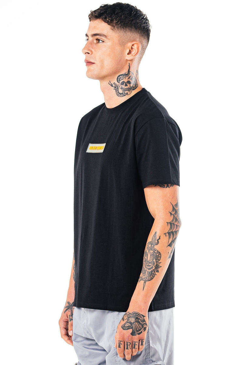 Golden Equation Herat Box Fit Men's T-Shirt - Black from Golden Equation