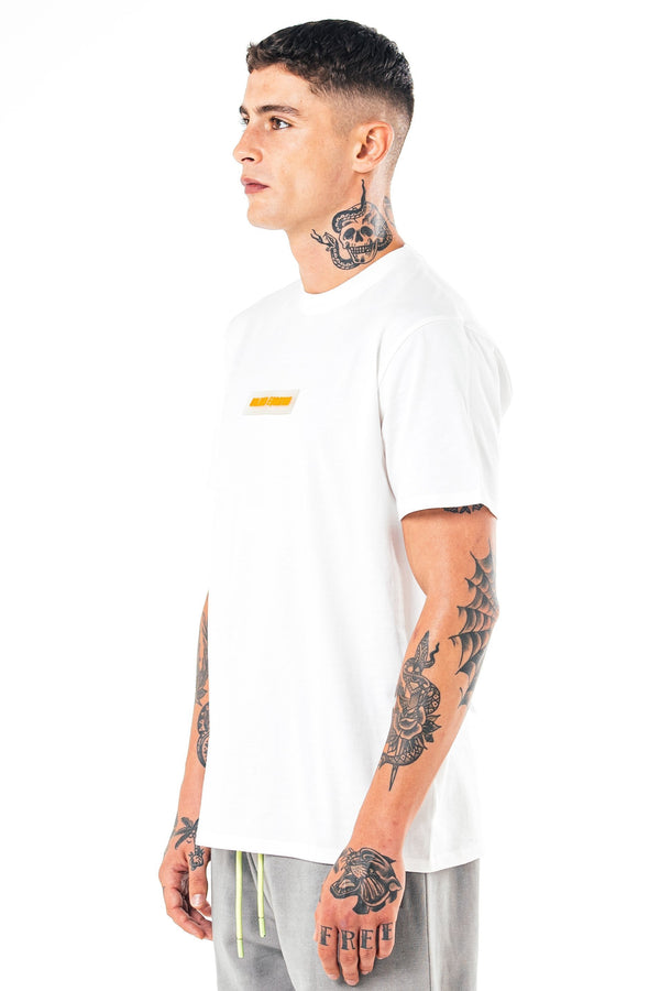 Golden Equation Herat Box Fit Men's T-Shirt - White from Golden Equation