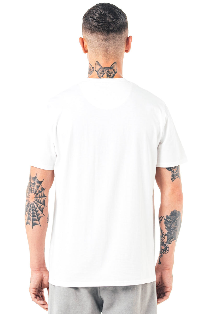 Herat Box Fit Men's T-Shirt - White from Golden Equation