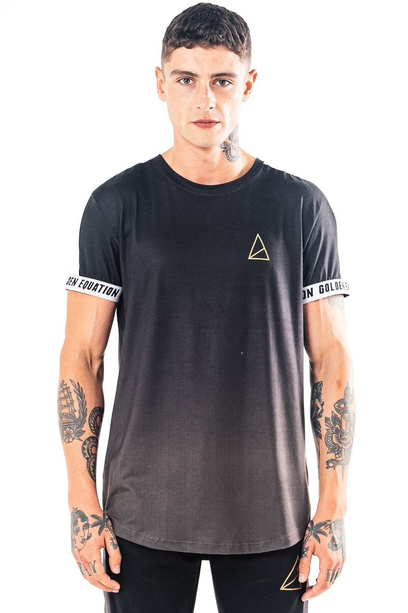 Golden Equation Kano Slim Fit Men's T-Shirt - Charcoal from Golden Equation