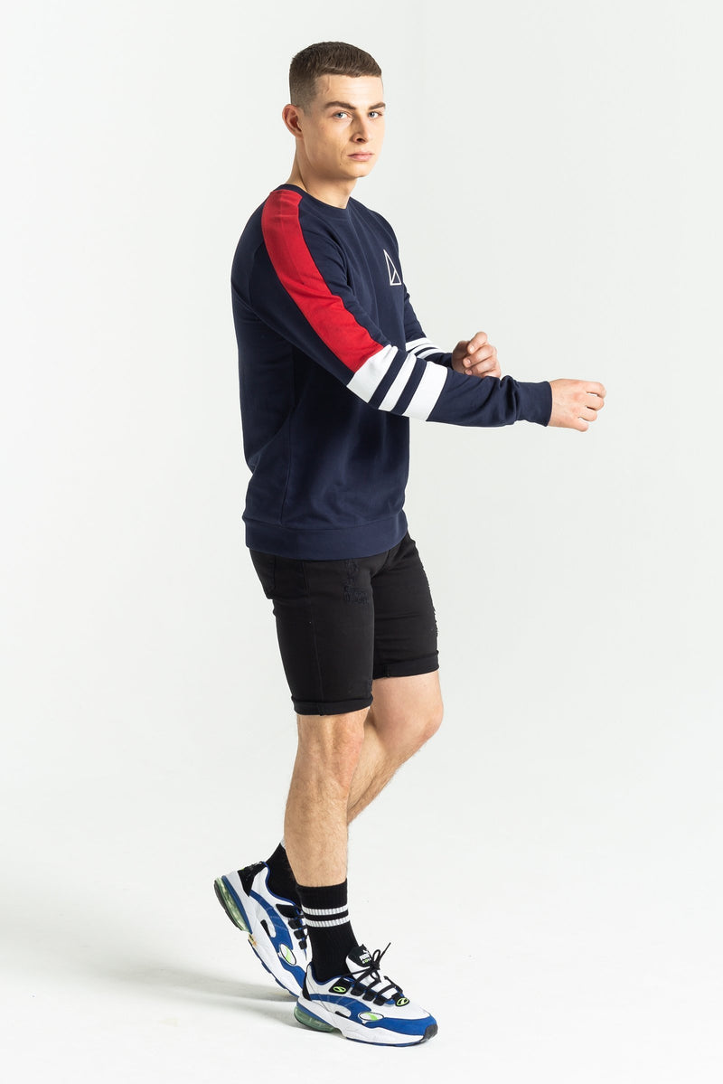 Golden Equation Liberty Crew Men's Sweatshirt - Navy from Golden Equation