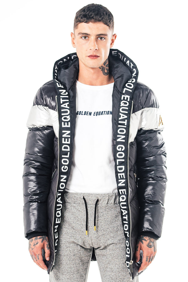 Mens Marant Puffer Jacket - Black from Golden Equation