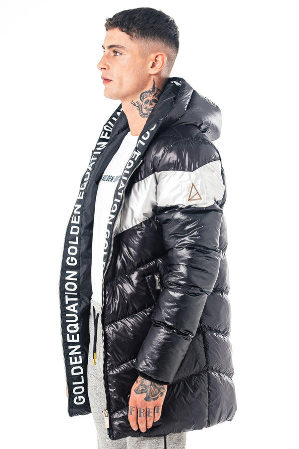 Golden Equation Marant Men's Puffer Jacket - Black from Golden Equation
